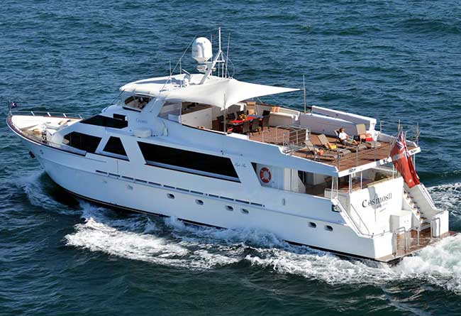 COSMOS II 105' Motor Yacht Luxury Superyacht Hire