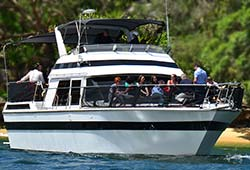DAY BY DAY 47' Ranger Power Cruiser Corporate Charters Sydney