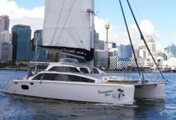 DREAMTIME GIRL 50' Lightwave Grande Catamaran Corporate Charter