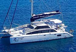 DREAMTIME GIRL 50' Lightwave Grande Catamaran Boxing Day Charter