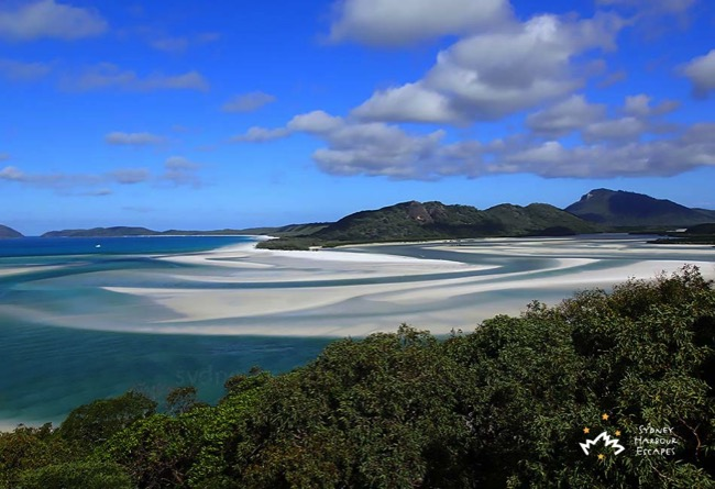 Beautiful Whitsundays View