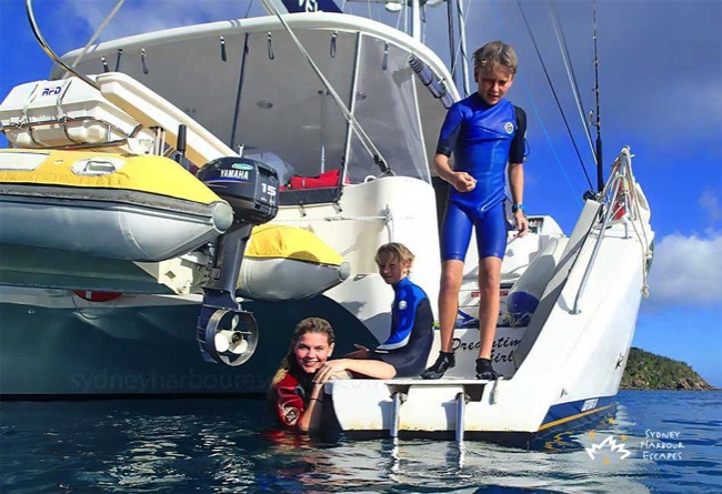 Kids Enjoying Whitsundays