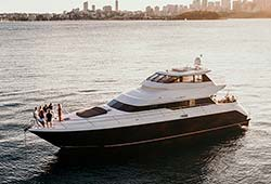 ELEMENT 80' Warren Luxury Super Yacht Charter