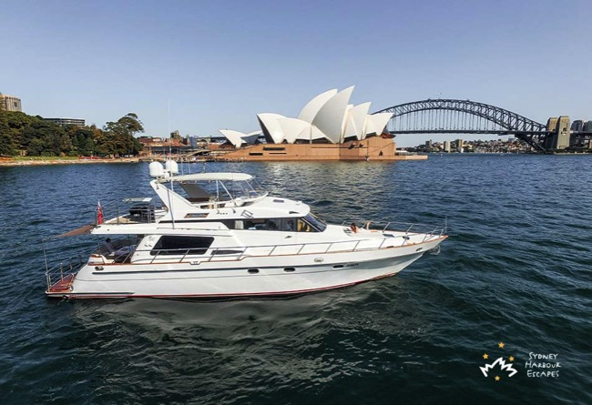 Enigma Cruising Near Opera House 3
