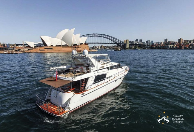 Enigma Cruising Near Opera House