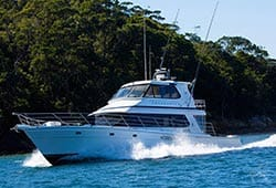 ENTERPRISE 65' Salthouse Flybridge Motor Yacht Private Charter