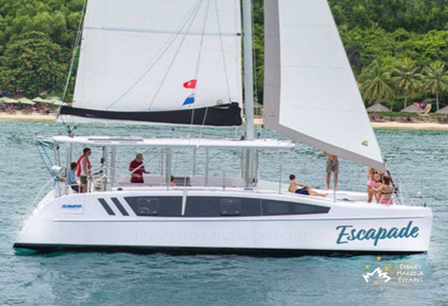 ESCAPADE 38' Seawind Sailing Catamaran for Corporate Charter