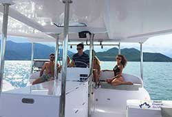 Cruising on Escapade Seawind 1160 Resort catamaran is a day of pleasure