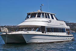 FLEETWING 53' Motor Catamaran Cruiser Private Charter