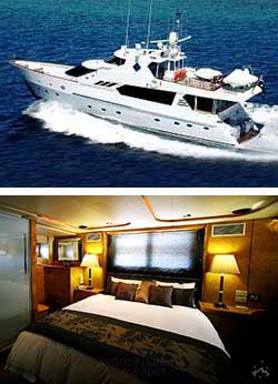 GALAXY I 85' Luxury Super Yacht Boat Accommodation