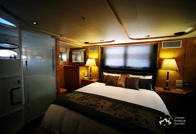Galaxy boat accommodation charter