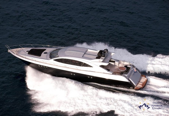 GHOST 1 Ghost 1 Boat - Luxury Superyacht Hire - Sydney Harbour Charter