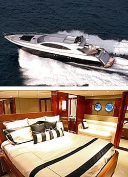 GHOST 1 87' Luxury Warren Super Yacht Overnight Charter