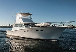HIGHLANDER 46' Sports Cruiser Corporate Charter