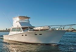 HIGHLANDER 46' Sports Cruiser Skippered Charter