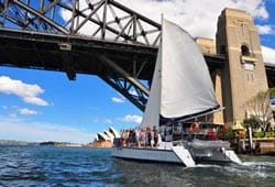 IMAGINE 48' Sailing Catamaran Australia Day Cruises