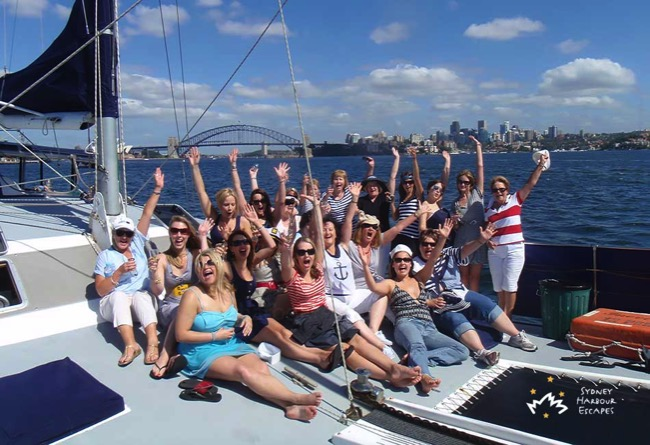 Imagine Hens Party Cruising