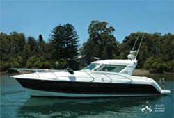 INCEPTION 36' Genesis Power Cruiser Skippered Charter