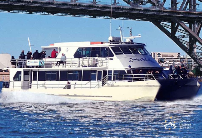 JERRY BAILEY 70' Multilevel Catamaran Corporate Boat Cruises