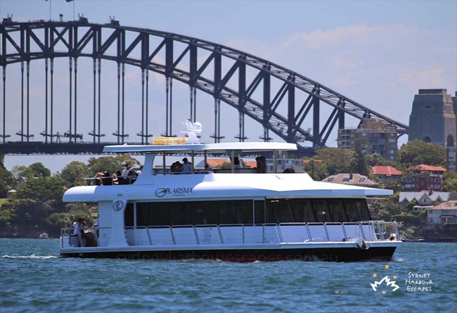 KARISMA 57' Multilevel Luxury Motor Vessel Australia Day Charter