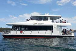 KARISMA 57' Multilevel Luxury Motor Vessel Transfer Charter Cruise