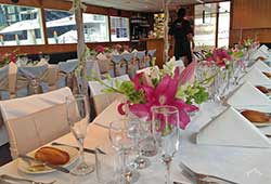 Magic Cruises Wedding Dinner