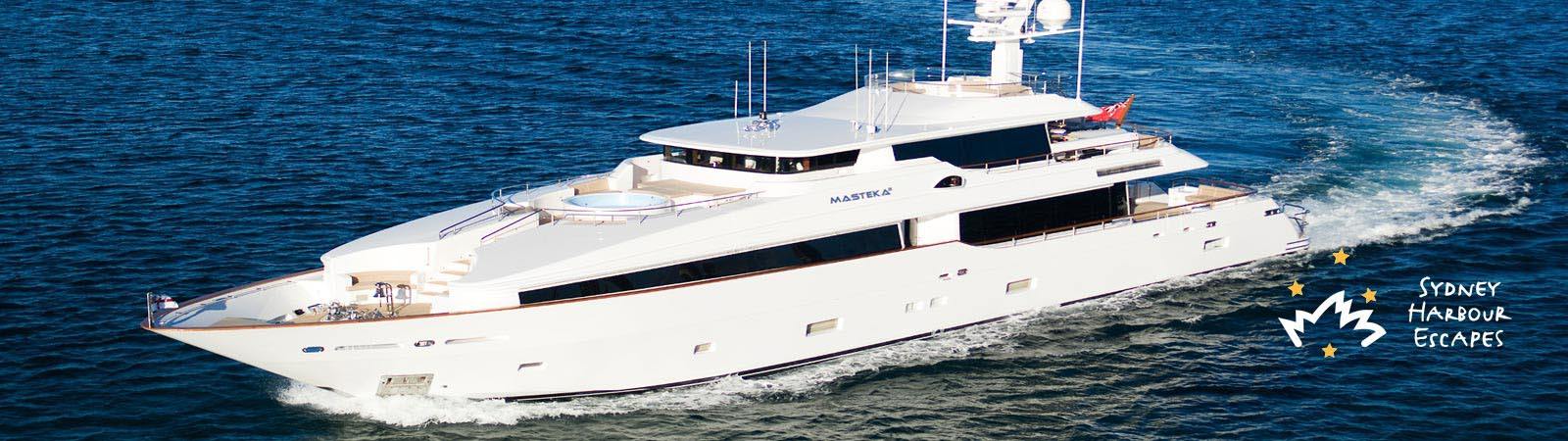 Masteka 2 boat  - Super Yacht Charter in New Years Eve