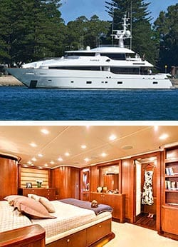 MASTEKA 2 122' 3 Level Super Yacht Boat Accommodation