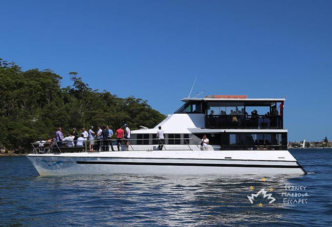 MORPHEUS 66' Multilevel Luxury Catamaran Australia Day Charter