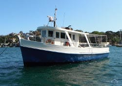 MV SUSANNAH 41' Private Charter Vessel Australia Day Charter