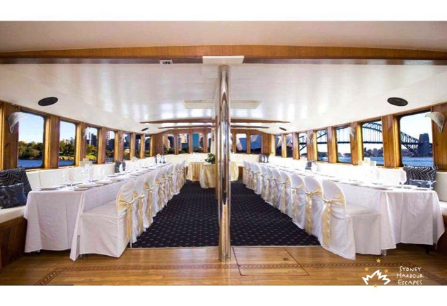 Mv Sydney Wedding Setup