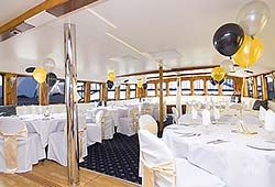 MV Sydney Party Tables