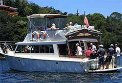 MV NEPTUNE 40' Power Cruiser Corporate Charter