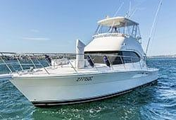 OCEAN BLUE 46' Riviera Luxury Motor Vessel Private Charter