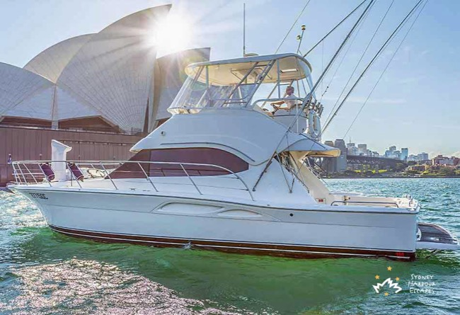 OCEAN BLUE 46' Riviera Luxury Australia Day Charter