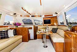 Ocean Blue Main Cabin