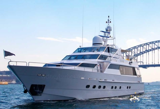 OSCAR 2 105' Luxury Motor Yacht Corporate Charter Boat