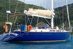 PILGRIM 58' Kaufman Timber Sailing Yacht NYE Boat Hire
