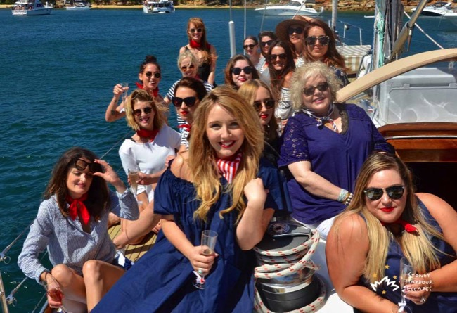 Pilgrim Hens Party