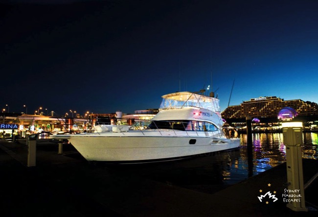 Pisces Moored Darling Harbour
