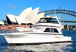 Platinum Boat Close to Opera House