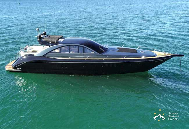 PROMETHEUS 77' Luxury Private Charter Boat