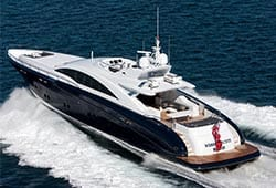 QUANTUM 120' Warren Superyacht Luxury Boat Hire Sydney