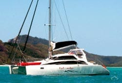RED UNDIES 38' Lightwave Sailing Catamaran Corporate Charter