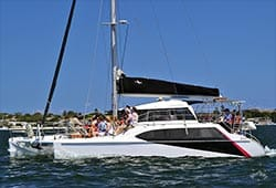ROCKFISH 2 34' Seawind Catamaran New Year's Eve Charter