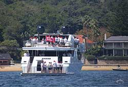 Sahana Corporate Charter Cruising