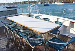 Sea Escape Outdoor Dining