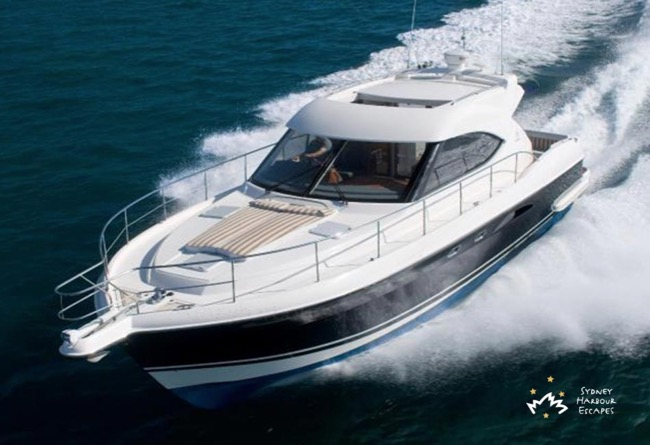 SEADUCED 55' Riviera 4700 Sports Yacht Private Charter