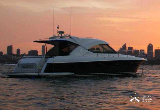 Seaduced Sunset Cruise Sydney