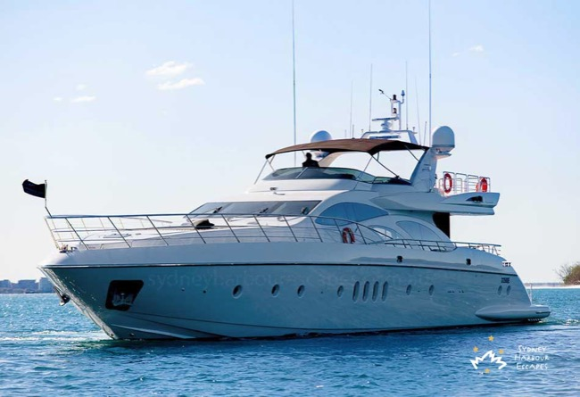 SEVEN STAR Seven Star Boat Hire - Luxury Superyacht - Sydney Harbour Escapes